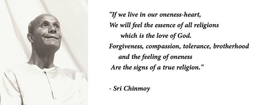 Quotes On Religion By Sri Chinmoysri Chinmoy Quotes
