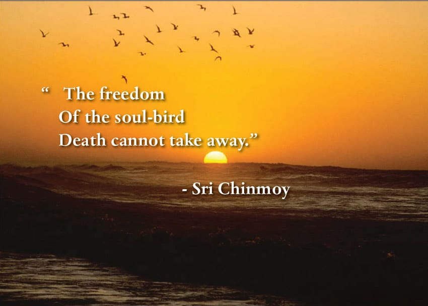 Quotes on death -Sri Chinmoy Quotes