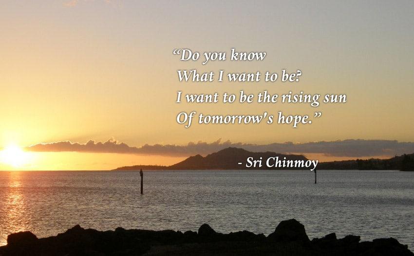 Sri Chinmoy - Meditation-Sun