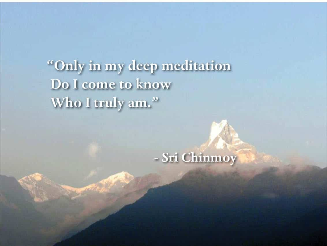 Quotes Who Am I Sri Chinmoy Quotes