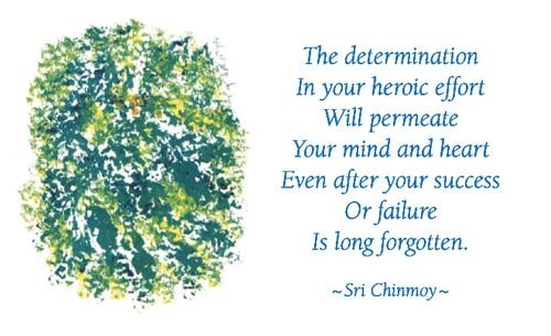 determination-in-efforts-success-failure