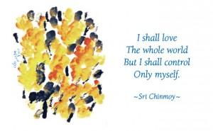 I shall love the whole world
